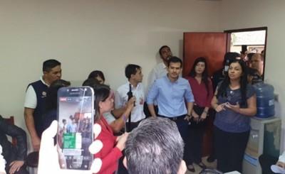 Encabezados por Kelembú y Molinas, planilleros incidentan censo