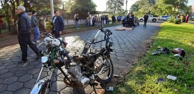 Conductor borracho mata a motociclista en accidente