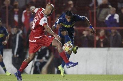 Argentinos y Boca igualaron sin goles