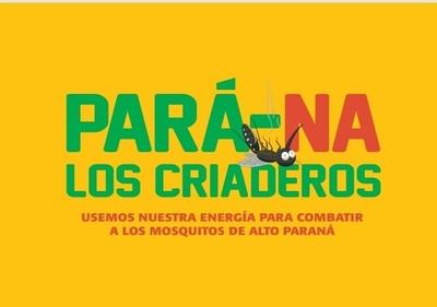 """""""Pará-na los criaderos"""": hoy lunes siguen los trabajos de rastrillaje y fumigación"""