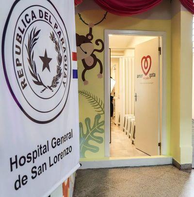 """Habilitan """"Centro de lactancia"""" en Hospital de San Lorenzo"""
