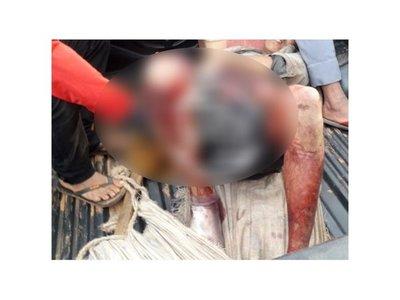 Pilló a su concubino teniendo relaciones con la vecina y le destrozó la pierna a machetazos