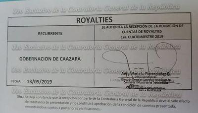 Pipo Díaz Verón desmiente a la Contraloría