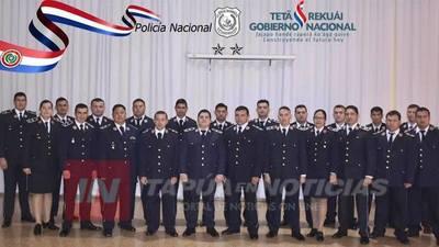 EMOTIVO EGRESO DE CURSO POLICIAL PARA SUBOFICIALES 1ERO.
