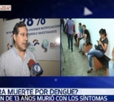 Ministerio de Salud investiga muerte de niño de 13 años por dengue