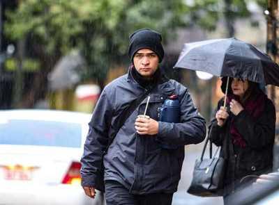 Meteorología anuncia una jornada fresca a fría y con precipitaciones