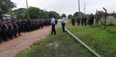 HOY / MRA: casi 700 policías para desalojar a 50 ocupantes