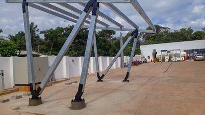 Futuras estaciones de carga para vehículos eléctricos localizadas en las ciudades de Coronel Oviedo y Caaguazú