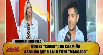 """Carmiña y Junior cara a cara: """"No me importa tu existencia"""""""