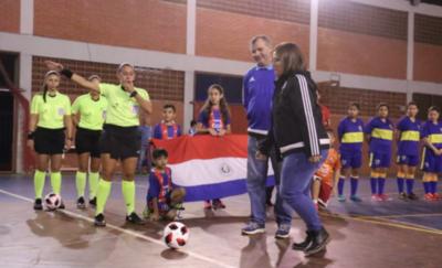 HOY / Arranca la quinta edición del Futsal femenino