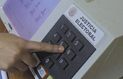 Diputados confirma uso de urnas electrónicas en comicios