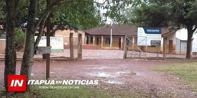 C. A. LOPEZ: ANUNCIAN MOVILIZACIÓN FRENTE A ESCUELA EN 7 DE AGOSTO KM 17.