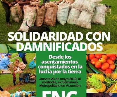 Trabajadores del campo donarán sus productos a los necesitados