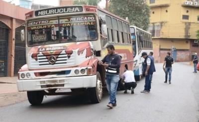 Realizan controles preventivos del transporte público
