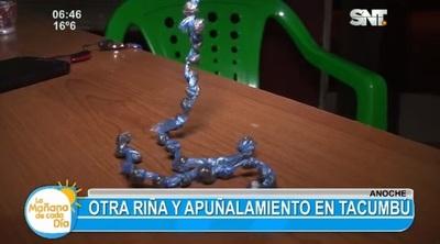 Riña por droga deja un herido en Tacumbú