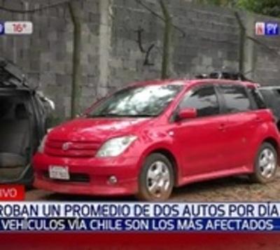 Autos vía chile, los preferidos de los robacoches advierte la Policía