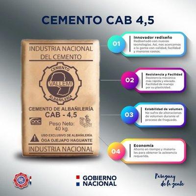INC presenta nuevo producto económico CAB 4,5