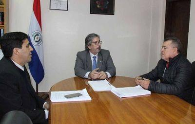 Directivos de gremio de jueces visitaron juzgados en Ciudad del Este