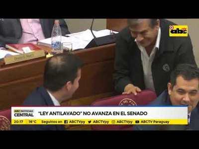 Ley Antilavado no avanza en el senado