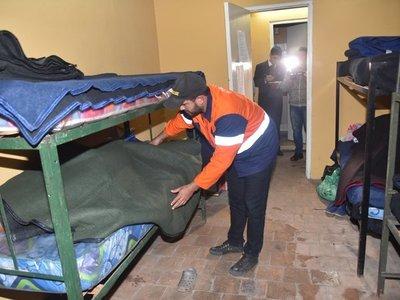 SEN habilita albergue para personas en situación de calle