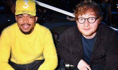 "Escuchá ""Cross Me"", el nuevo single de Ed Sheeran junto a Chance The Rapper"