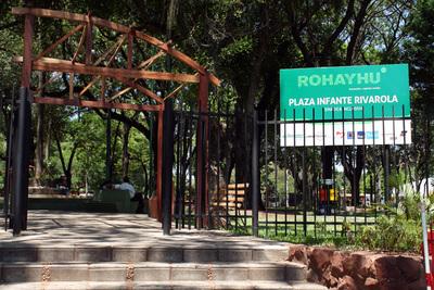 Feria de emprendedores de personas con discapacidad en Plaza Infante Rivarola