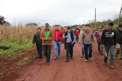 COMUNIDAD 13 DE MAYO, DE TOMÁS ROMERO PEREIRA, CAMINO A LA REGULARIZACIÓN DE LA TENENCIA DE TIERRAS.
