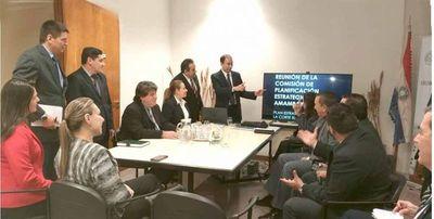 Reunión de planificación estratégica en Amambay