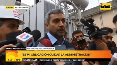 Abdo Benítez se expide sobre Miguel Cuevas