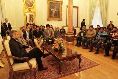 Ejecutivo conversó con representantes indígenas sobre proyectos de desarrollo en sus comunidades