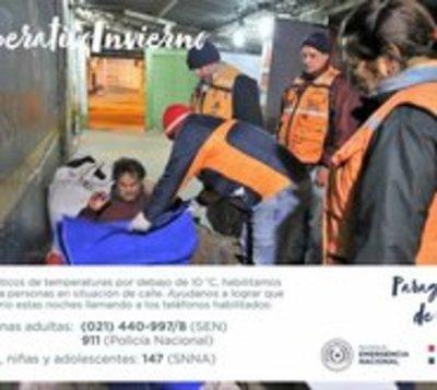 Habilitan albergue para personas en situación de calle