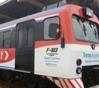 Tren Encarnación-Posadas estará fuera de servicio fines de semana