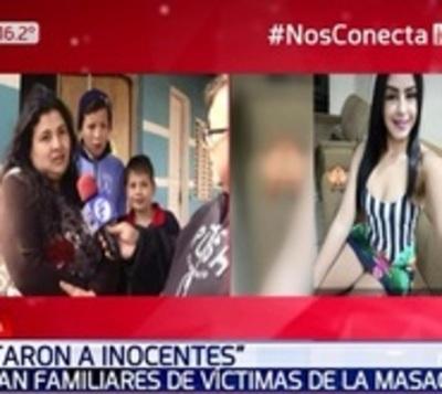 """Hablan familiares de víctimas de masacre en PJC: """"Mataron a inocentes"""""""