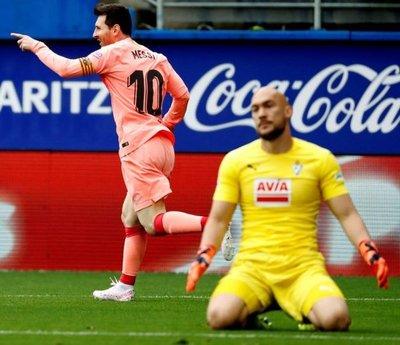 Lionel Messi y otra Bota de Oro
