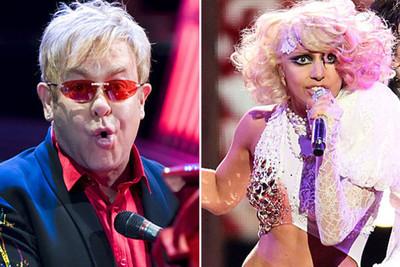 Elton John y Lady Gaga trabajarán juntos