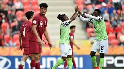 Nigeria no pondera y golea a Catar en su estreno