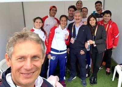 Ortiz y Karabia, los destacados en Lima