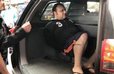 Expulsan del país al líder de la facción criminal brasileña Taura