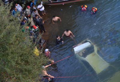 Esteño desaparece en  río Yguazú tras accidente
