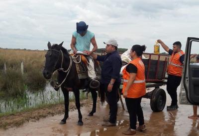 Distribuyen más de 400 mil kilos de víveres en Ñeembucú