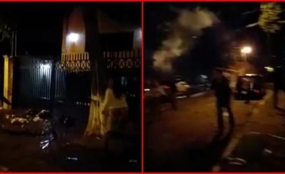Escrachadores llegaron hasta la vivienda de concejal Chavez