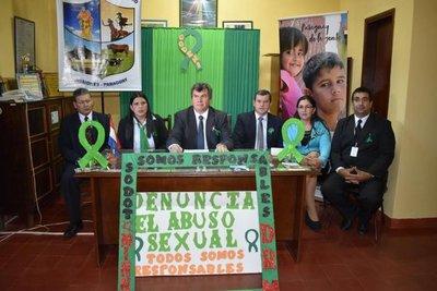 Distrito de Santiago se suma la lucha contra el abuso infantil
