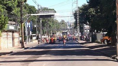 Tramo de Avda. España está bloqueado por obras