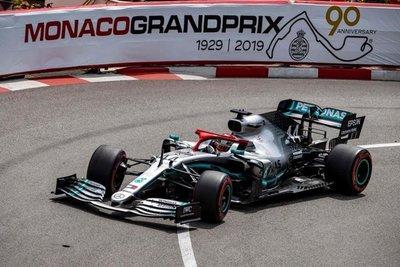 Pole de Hamilton en Mónaco