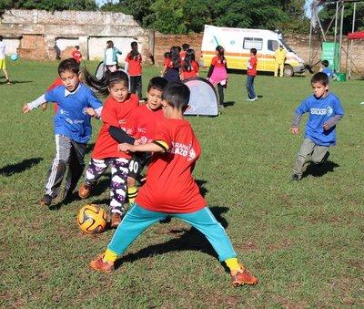 Más de 800 niños y niñas participaron de programa «Golazo» en Misiones