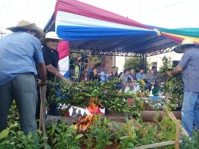 Agricultores celebran su día en Coronel Bogado