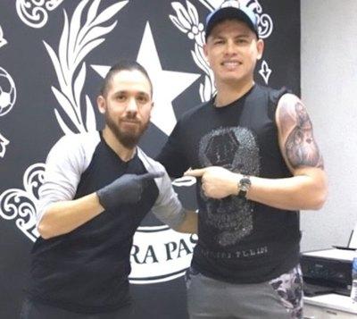 El tatuaje de  Alfredo Aguilar