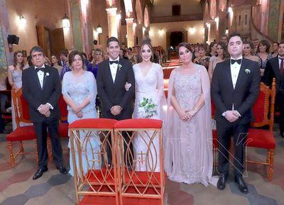 Mariana y Walter se casaron