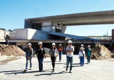 La obra del memorial Ycuá, con 82% de avance
