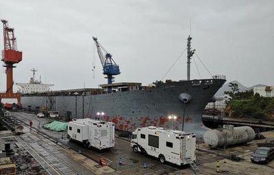Diez muertos por un escape de gas en un carguero en China